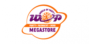 Logo WOP – World of Party AG